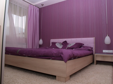 Purple Elegant Bedroom
