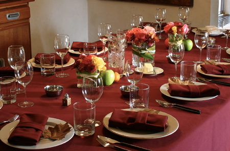 Thanksgiving Table Setting Ideas & Setting Guidelines | Real life ...