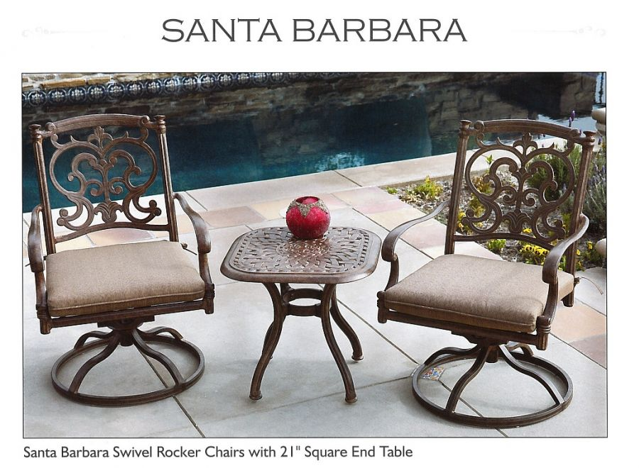Powdered Coated Cast Aluminum Patio Furniture   Affordable   Darlee
