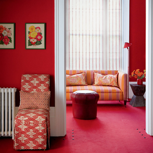 Ugly Red Living Room